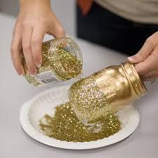 diy u2013 glitter mason jar centerpieces diy centerpieces sprinkles
