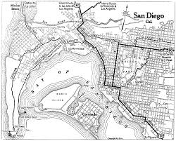 Old Town San Diego Map by California City Maps At Americanroads Com