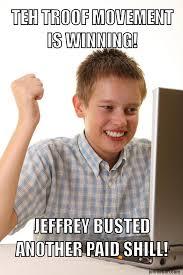 Jeffrey Meme - paid shills meme john le bon