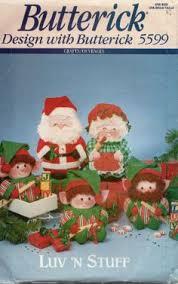 sewing patterns christmas elf simplicity 8761 cowboy santa mrs claus dolls pattern reindeer