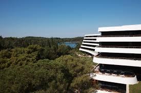 modern 5 star luxury hotel in rovinj croatia lone utterly exterior