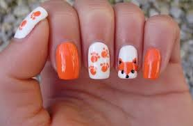 cat and cat paws halloween nail art tutorial and nail care