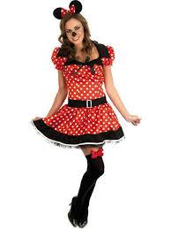 missy mouse cartoon fancy dress costume ladies women