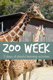 Bored At Home Create Your Own Zoo Zoo Week Playful Learning Activities For Kids Units