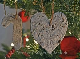wildflower paper christmas ornaments