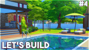 the sims 4 let s build a family house part 4 landscaping the sims 4 let s build a family house part 4 landscaping continued