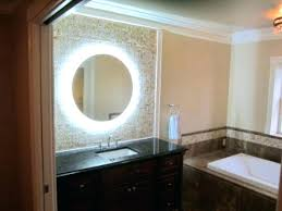 bathroom mirrors with lights behind lighted bathroom mirrors magnifying large size of lights design