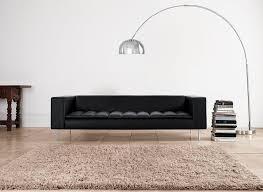 canapé cuir contemporain design canapé contemporain en tissu en cuir professionnel fairfax