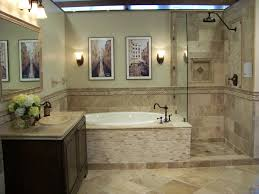 Tile Bathtub Ideas Travertine Tile Bathroom Pictures Room Design Ideas