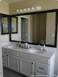 framing your bathroom mirror you can buy a kit i don u0027t think