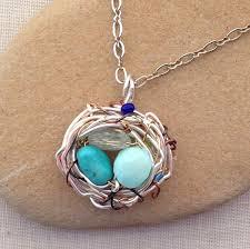 birthstone jewelry for yang s jewelry diy bird s nest birthstone pendant