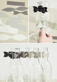 bows for wine bottles diy message in a wine bottle guest book bridalpulse