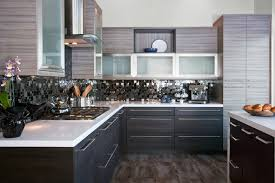 two toned kitchen cabinets modern attractive two toned kitchen