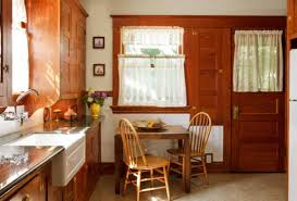 built in kitchen cabinets restored cabinets in a renovated craftsman kitchen old house