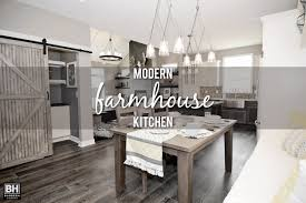 kitchens modern showcase home features modern farmhouse kitchen
