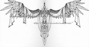 sword of heaven tattoo design by lavonne on deviantart