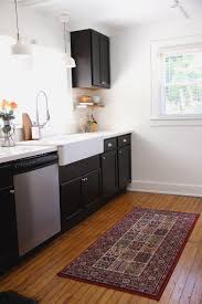 7 Black And White Kitchen by Mudroom Stair Carpet Rubber Backed Runner Rugs Small Runner Rug