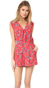 cupcakes and cashmere fitz cherry blossoms romper shopbop