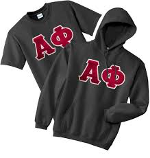 fraternity u0026 sorority lettered matching hoodie u0026 t shirt set