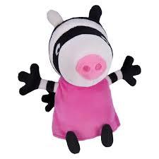 Peppa Pig Plush Peppa Pig Plush With Sounds Zoe Zebra Target