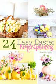 easter centerpiece 24 easy easter centerpiece ideas