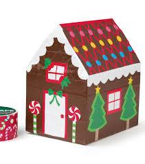 duct tape gingerbread house joann