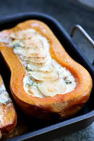 cuisine butternut butternut farcie lardons et chèvre by acb 4 you