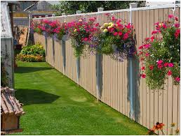 Backyard Fence Decorating Ideas Home Design Backyard Wooden Fence Decorating Ideas Room