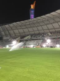 2022 fifa world cup new world record set in returfing of fifa 2022 world cup qatar