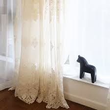 European Lace Curtains High End European Lace Embroidery Curtain Gauze Lace Curtains In