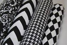 black and white fabric pattern patterned fabric ebay