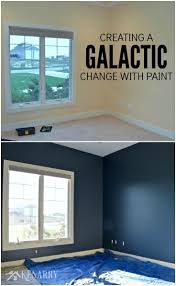 outerspace paint creating a galactic change