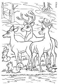 printable bambi coloring pages kids coloringstar