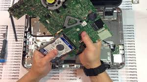 dell inspiron 15z core i3 teardown disassembly how to replace hdd