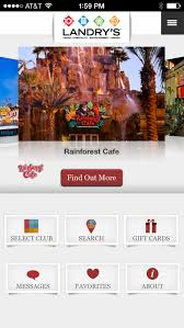 landry s gift cards landrys select club android apps on play