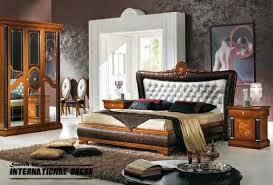 Luxury Italian Bedroom And Furniture In Classic Style Interior - Italian design bedroom furniture