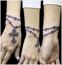 rosary beads wrist tattoo designs pgv38vvgx tattoos pinterest