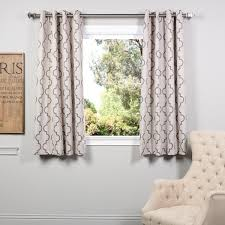 Ikea Kitchen Curtains Inspiration Emery Lined 3 Piece Swag Jabot Curtain Set 63l Sky Kitchen