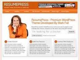 Wordpress Resume Themes Resumepress U2013 Wordpress Resume Theme Tools4affiliates