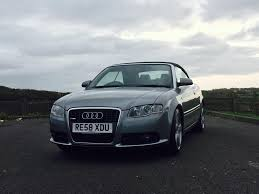 2008 58 audi a4 cabriolet 1 8t s line full service history in