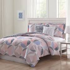 Blush Pink Comforter Buy Pink And Black Comforter From Bed Bath U0026 Beyond