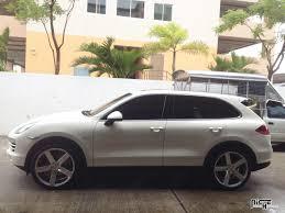 Custom Porsche Cayenne - porsche cayenne milan m135 suv gallery mht wheels inc