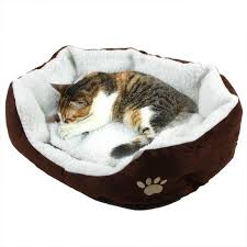 2017 cute soft winter cat bed mini house for cat pet dog sofa bed