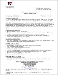 security officer resume striking design of security officer resume sle 19815 resume