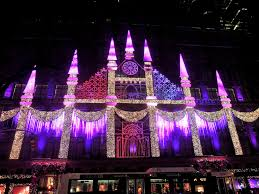 city walks in new york 2016 1 saks light show