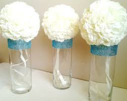 Cylinder Vases Wedding Centerpieces Glass Cylinder Vases Gold Bling Wedding 50th Anniversary