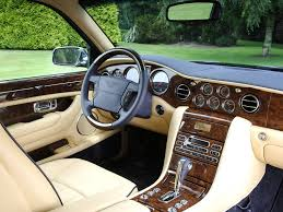 bentley cars inside 2005 bentley arnage blue train series bentley supercars net