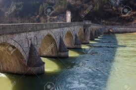 Ottoman Period Bridge From The Period Of The Ottoman Empire The River
