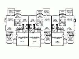 Multi Family House Plans Triplex Eplans Ranch House Plan Well Appointed Triplex 4297 Square