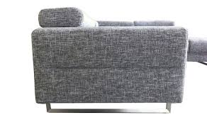 canap narbonne canapé d angle en tissu gris angle à gauche